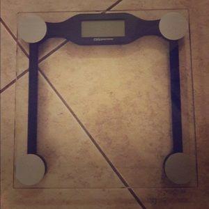 DIGITAL SCALE  (Weight watcher Glass  scale)